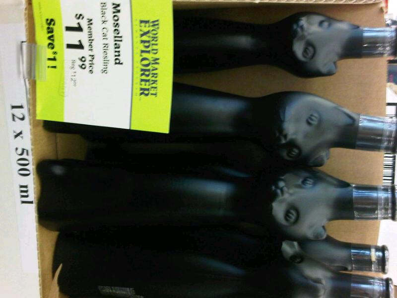 Black Cat Wine Bottle World Market Please Visit Spookyinc Com