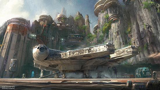 Star Wars coming to Disneyland Resorts